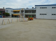 平成26年 楠幼稚園 園庭を拡張